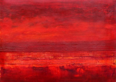 Red Red: 2013<br>Acrylic<br>20 x 26