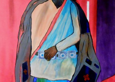 The Turquoise Trader<br>Acrylic<br>36 x 48