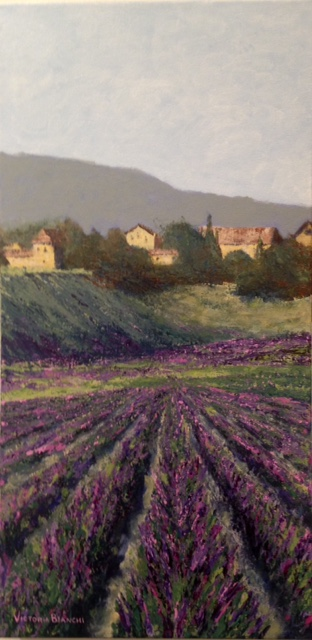 Lavender Field #2 by Victoria Bianchi. 2nd place amateur.