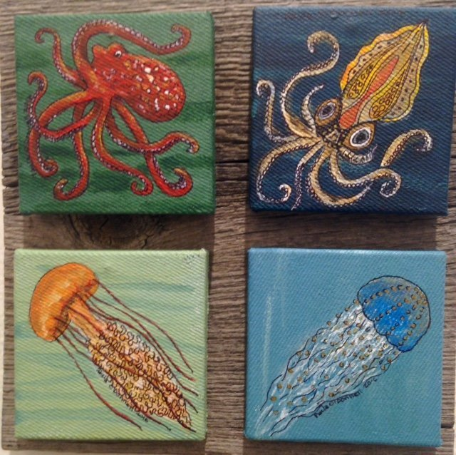The Tentacle Collection by Paula ODonnell. Honorable mention amateur.